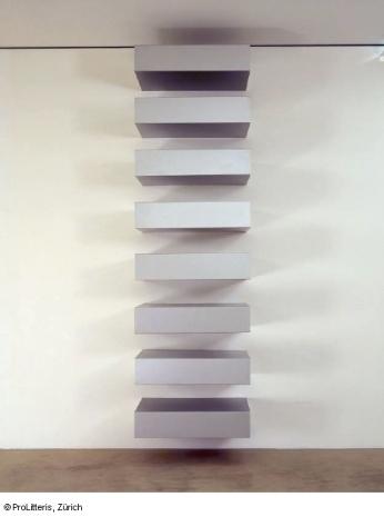 Donald Judd, Untitled, 1970 © ProLitteris
