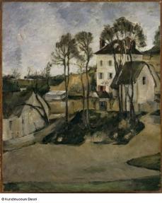 Paul Cézanne La maison du docteur Gachet à Auvers, 1873 © © Kunstmuseum Basel