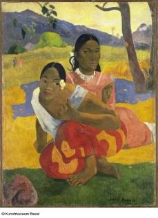 Paul Gauguin NAFEA faa ipoipo (Quand te maries-tu?), 1892 © © Kunstmuseum Basel