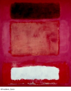 No. 16 (Red, White and Brown), Mark Rothko, 1957 © ProLitteris