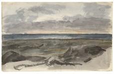 Bord de mer près de Libau, Lettonie, 1810