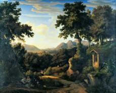 Paysage italien, vers 1822